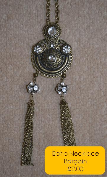 boho necklace bargain