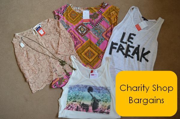 charity shop bargains