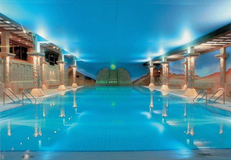 Aztec Spa Swimming Pool