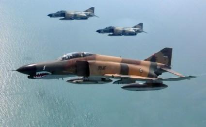 Iran Air Force (IRIAF) F-4 Phantom II interceptor fighter bomber United States Navy airforce AIM-9 Sidewinder aIM-7 Sparrow AIM-120 AMRAAM AGM-65 Maverick AGM-88 HARM (6)
