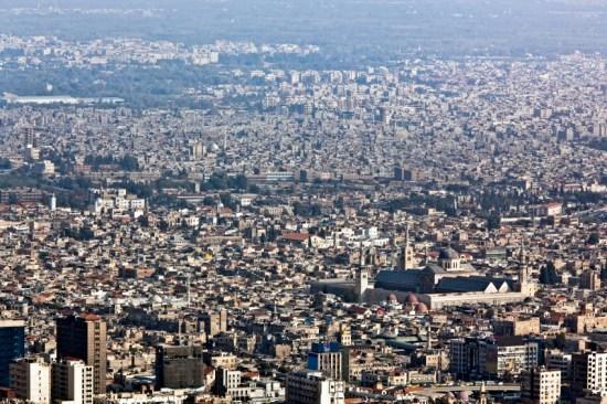 Damascus Population Growth