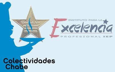 Recibimos las Estrella de Oro a la Excelencia Profesional