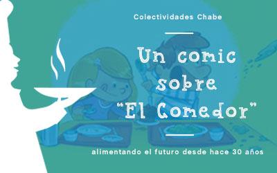 """""""El Comedor"""" un comic divertido que cuenta todas las cosas que pasan delante de un plato…"""