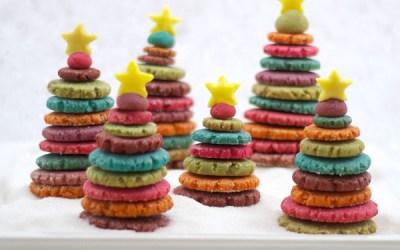 Dulces árboles de Navidad