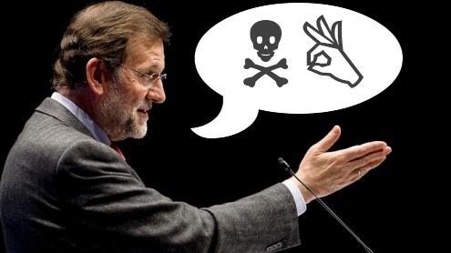Rajoy neolengua por Colectivo Burbuja