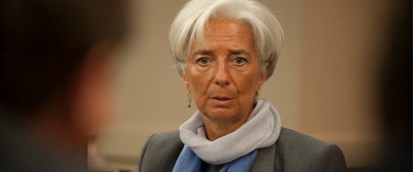 Christine Lagarde por Center for Global Development