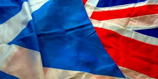 Bandera Escocia Reino Unido por The Laird of Oldham