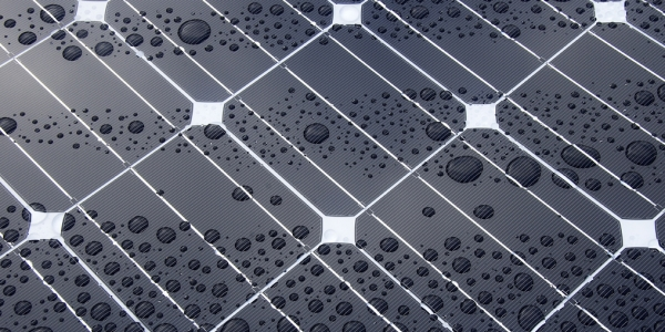 Panel solar por Oregon Department of Transportation