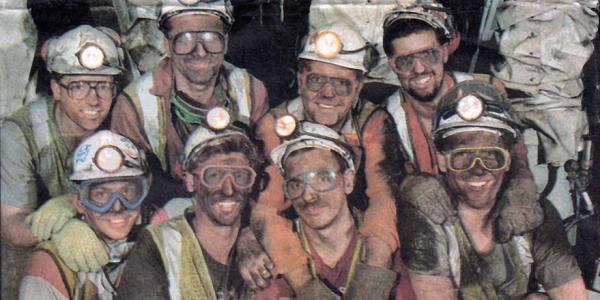Mineros por Nottsexminer