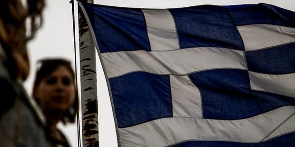 Bandera de Grecia por Jack Zalium