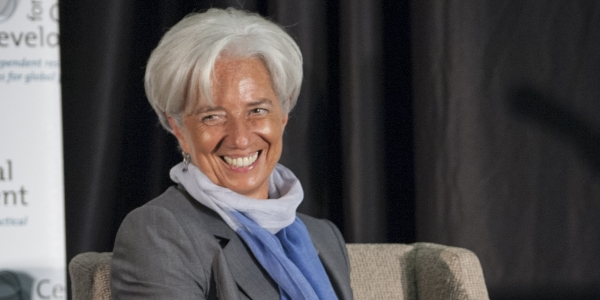 Lagarde por Center for Global Develpment