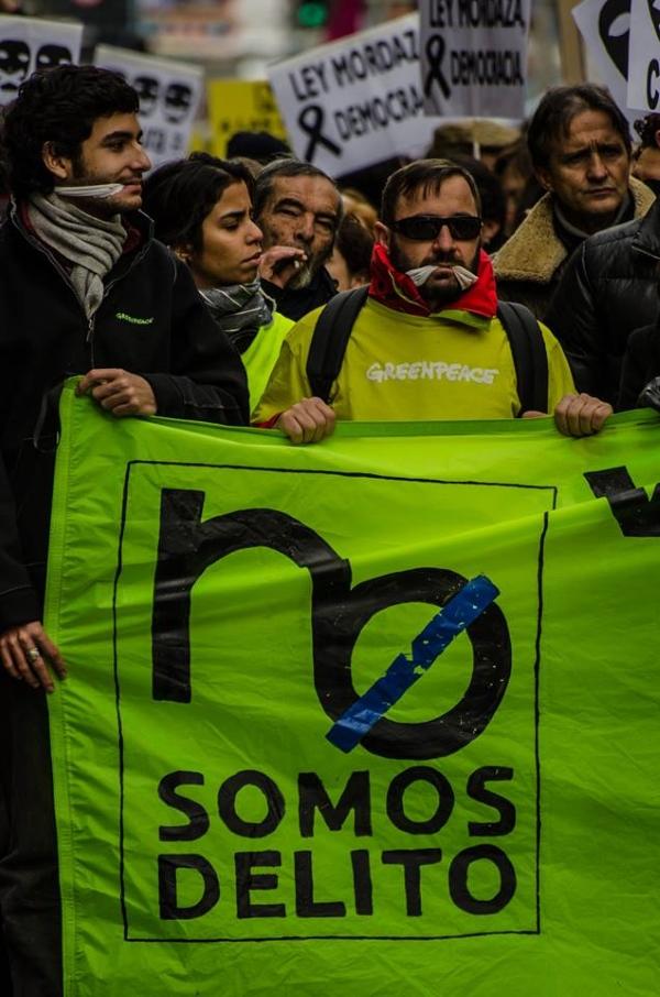 Manifestacion contra le ley mordaza 09