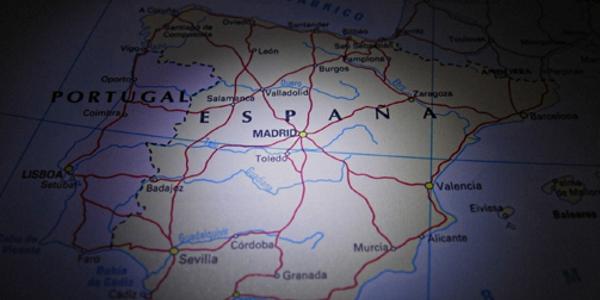 Mapa de España 2 por Javier Micora