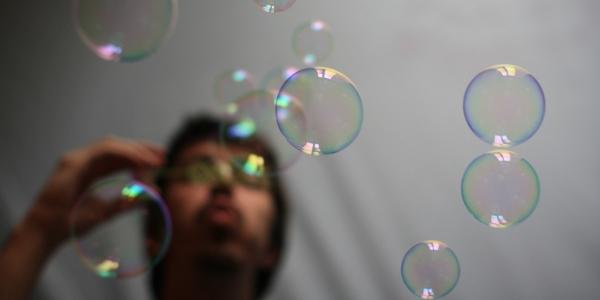 Burbuja por del mich