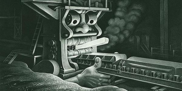 Industria por james vaugham - Boris Artzybasheff