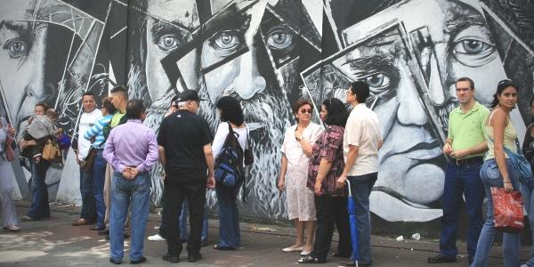 Votantes en Venezuela por Carlos Adampol Galindo