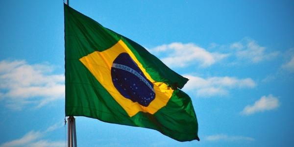 Bandera de Brasil por M J Ambriola