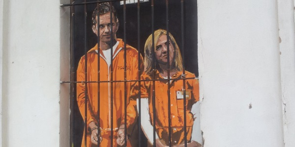 Urdangarin y Cristina por Toni Hermoso Pulido