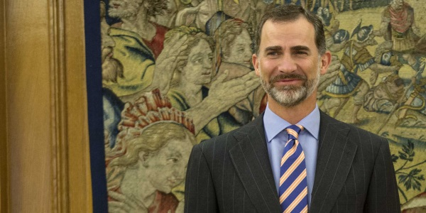 Felipe VI por Cristina Cifuentes