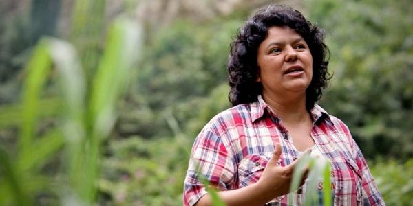 Berta Caceres por www.democracynow.org
