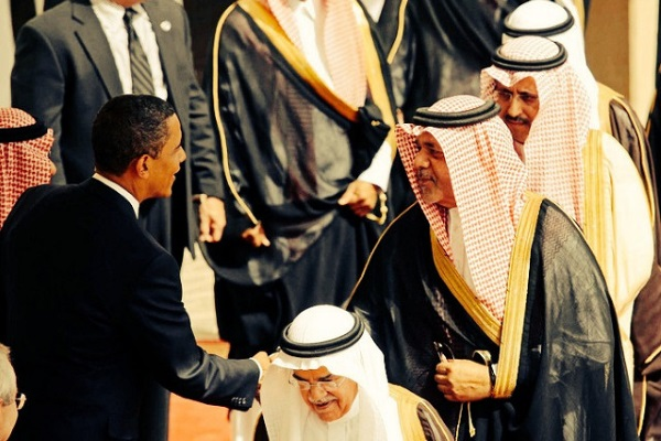 Obama Arabia Saudita por Tribes od the World