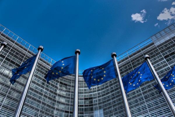 Banderas Union Europea por Thijs ter Haar