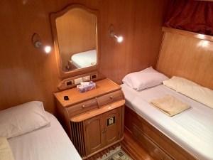 Red Sea Liveaboard Cabin