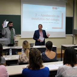 Celebrada la Asamblea Constituyente del Colegio Navarro de Periodistas / Nafarroako Kazetarien Elkargoa