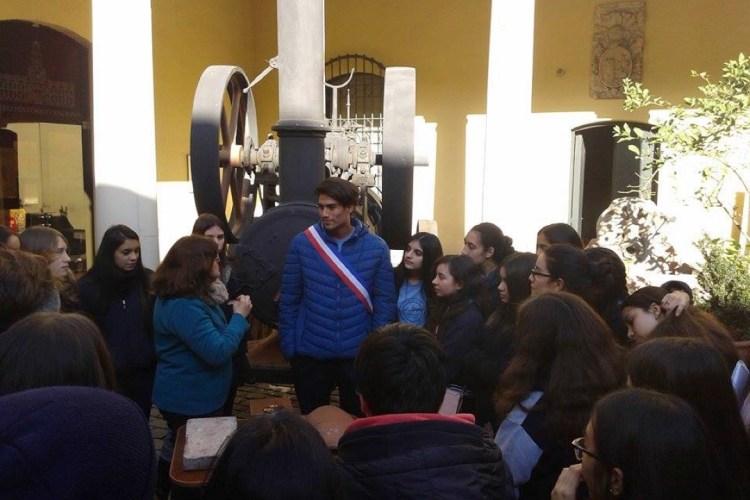 VISITA DE ESTUDIO AL MUSEO HISTORICO NACIONAL