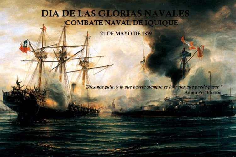 DIA DE LAS GLORIAS NAVALES