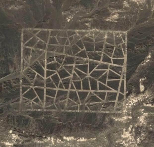 Conheça alguns lugares misteriosos encontrados pelo Google Earth