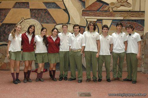 Alumnos de 5to año de la Secundaria con Excelencia Académica