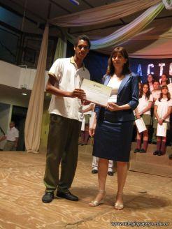 Acto de Clausura de la Secundaria 2009 82