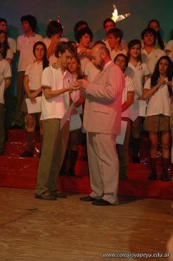 Acto de Colacion de la Promocion 2009 125