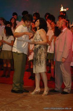Acto de Colacion de la Promocion 2009 138