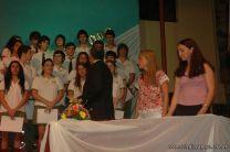 Acto de Colacion de la Promocion 2009 201