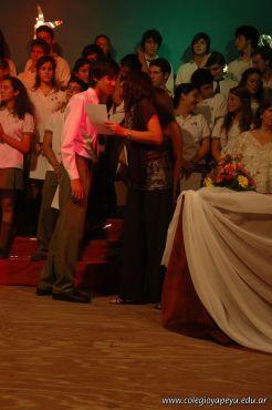 Acto de Colacion de la Promocion 2009 210
