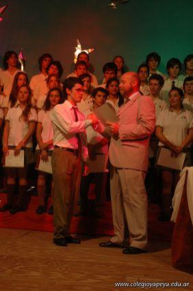 Acto de Colacion de la Promocion 2009 255