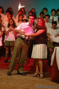 Acto de Colacion de la Promocion 2009 270