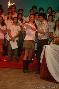 Acto de Colacion de la Promocion 2009 271