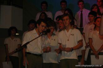 Acto de Colacion de la Promocion 2009 302