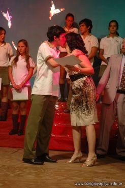 Acto de Colacion de la Promocion 2009 60