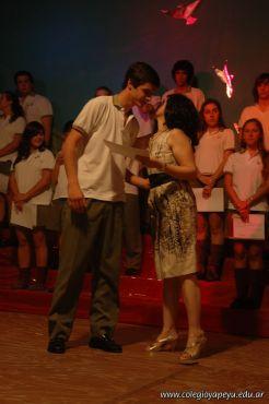 Acto de Colacion de la Promocion 2009 98