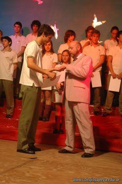 Acto de Colacion de la Promocion 2009 99