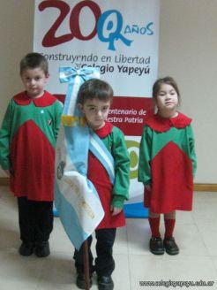 Acto de la Bandera del Jardin 2010 4