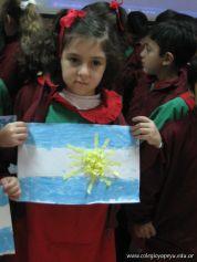 Acto de la Bandera del Jardin 2010 65