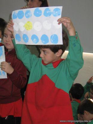 Acto de la Bandera del Jardin 2010 74