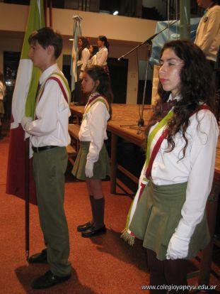 Promesa de Lealtad a la Bandera de la Secundaria 18