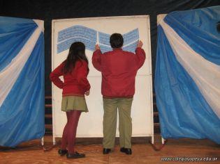 Promesa de Lealtad a la Bandera de la Secundaria 25