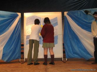 Promesa de Lealtad a la Bandera de la Secundaria 43